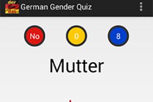 German gender quiz